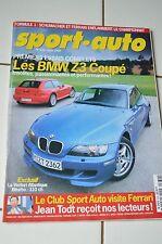 SPORT AUTO n°439 08/1999 VENTURI ATLANTIQUE BITURBO BMW Z3