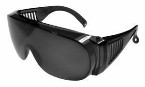 Fit-Over Sun Glasses Super Dark IS3001SD Crystal-Grey/Smoke Extra Large XL