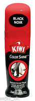 Kiwi Liquid Colour Instant Boot Shoe Shine Polish Wax - 75ml - BLACK