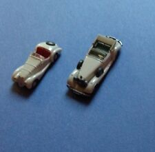 HO SCALE (1/87) WIKING MERCEDES AND BMW CONVERTIBLE 2 CAR LOT