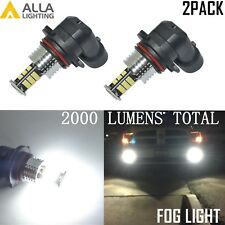 Alla Lighting 30-LED 9006 Driving Fog Light Bulb Lamp Replacement 6000K White,2x