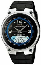 Casio Men's Illuminatore Orologio Digitale, quadrante LCD, neo-display, 5 atm, aw-82b-1av