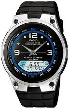 Casio Men's Illuminator Digital Watch, LCD Dial, Neo-Display, 5 ATM, AW-82B-1AV