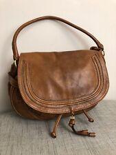 Fiorelli Handbag Faux Leather Tan Slouch Boho Drawstring Flap Shoulder Bag