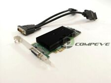 Matrox M9120-E512LAU1F 512MB DDR2 PCI E x1 Graphics Video Card Plus LP ATX