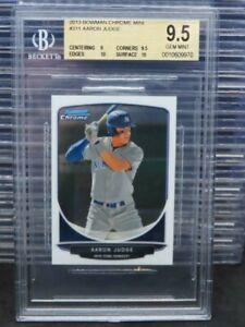 2013 Bowman Chrome Aaron Judge Mini #311 BGS 9.5 Yankees I73