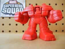Marvel Super Hero Squad RARE TEST SHOT Red Blank HULKBUSTER IRON MAN Mark 44