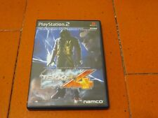Tekken 4 Sony Playstation 2 PS2 Namco NTSC-J SLPS 25100