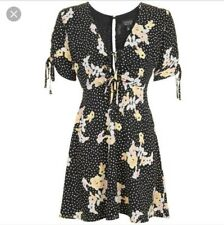 Topshop Spotty Floral Tea Dress NWT