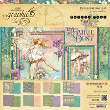 Graphic45 FAIRIE DUST COLLECTION PACK scrapbooking (16) PAPERS + STICKER SHEET