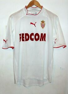 MONACO 2002 AUTHENTIC FOOTBALL SHIRT BY PUMA LARGE #8 GIULY