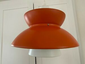 Original vintage Danish mid-century Søværnspendel Jorn Utzon Nordisk Solar LAMP
