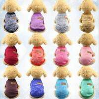 Warm Dog Clothes Puppy Pet Cat Jacket Coat Winter Sweater For Small Dogs XS-XXL