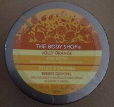 The Body Shop Body Butter Sealed New 50 ml / 1.69 oz Jolly Orange Rare HTF