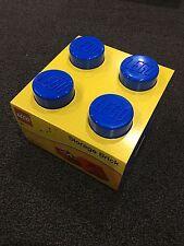 LEGO Storage Brick - Blue - 4 Knobs - New! Never Used!