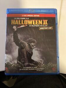 Halloween 2 Rob Zombie Directors Cut TOP Blu Ray
