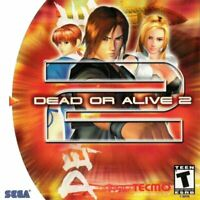 🔥 Dead or Alive 2 Sega Dreamcast  Disk Only