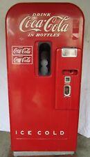 Vtg Vendo 39 Coca Cola Coke Soda Bottle Vending Machine For Parts Restoration B