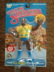 1985 TITAN SPORTS WWF S.D. JONES WRESTLING SUPERSTARS FIGURE NOC