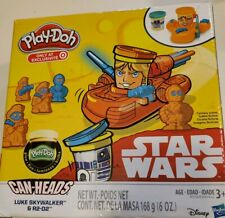 Star Wars Hasbro Play Doh Playset Luke Skywalker R2-D2 Glow in the Dark NEW