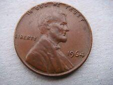 1964 American Lincoln un céntimo Moneda en muy buen grado -