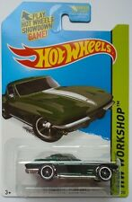2015 Hot Wheels HW WORKSHOP '64 Corvette Sting Ray 223/250 (Kmart Exclusive)