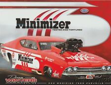 2017 Doug Winters Minimizer '69 Chevy Chevelle Pro Mod Nhra postcard
