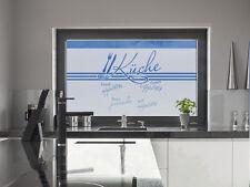 Sichtschutzdekor Fensterfolie Sichtschutzfolie für Küche Guten Appetit Spruch