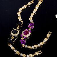 Fashion Jewelry Women Crystal Rhinestone Cubic Zirconia Bracelet Chain Bangle