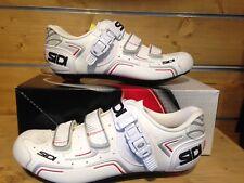 Rennrad Schuhe SIDI Scarpe Level white Gr.42 Einzelstück Modellj. 2017