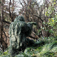 Ghillie Suit 3D Camouflage Camo Lightweight Tactical Hunting Forest Woodland