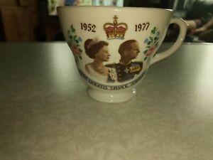 The Queen Elizabeth Silver Jubilee Tea Cup 1977