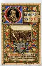 (Lb8520-438) 3. Pope Gregorius XVI, 1831-1846,  1902 Used,