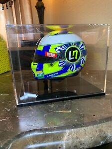 1:2 SCALE HELMET LANDO NORRIS 2019 Bell Formula 1 with display case PRE-OWNED