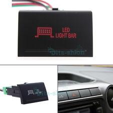 12V Switch LED Push Switches Red LED Light Bar LED For Volkswagen VW Amarok 2016
