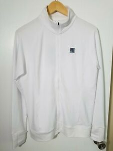 1 NWT UNDER ARMOUR WOMEN'S JACKET, SIZE: LARGE, COLOR: WHITE (J110)