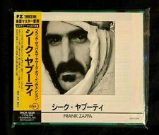 New listing 1995 FRANK ZAPPA SHEIK YERBOUTI JAPAN CD OBI TWO 10 PAGES LYRICS / ART BOOKLETS