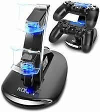PS4 Controller Dual Charging Dock Station for PlayStation 4 / Slim Pro & PSVR