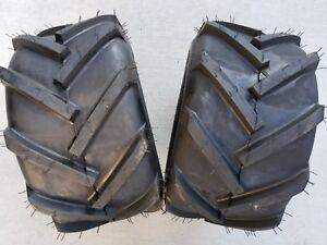 2 - 18x9.50-8 2P OTR FieldMaster Tires Lug AG PAIR 18x9.5-8 FREE SHIP