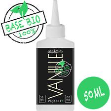 E-liquide Bio* Vanille 50%MPVG|50%VG 50ml Cigarette électronique 🔥PRIX PROMO🔥