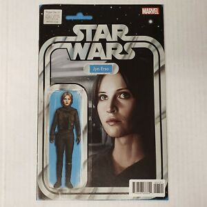Star Wars Rogue One #1 VF/NM Jyn Erso Action Figure Variant Marvel Comics 2017