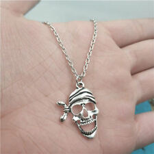 Pirate,Pirate Necklace,Silver handmade necklace,Fashion charm jewelry pendants