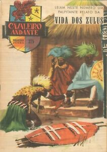1959 TINTIN (Hergé) Portuguese comic magazine Cavaleiro Andante # 375