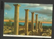 John Hinde Colour Postcard General View Temple of Apollo Curium Cyprus Unposted