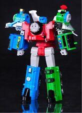 """Thomas The Train Transformer """"Super Thomas"""" Voltron Devastator Tank Engine Toys"""