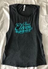 311 Three Eleven Unity Tour 2016 Gray Ladies M Flowy Muscle Soft Tank Top