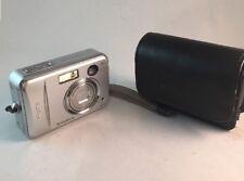 Fujifilm FinePix A345 4.1MP Argent Appareil Photo Numérique & Sac testé #973
