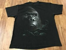 New listing Xl - Vtg 1992 Gorilla King Kong Single Stitch 90s Hanes Cotton T-Shirt Made Usa