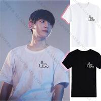 KPOP EXO Baekhyun Tshirt Second Seoul T-shirt Concert Tour  Unisex Short Sleeve