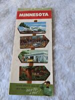 Vintage Road Map - 1950 Cities Service Minnesota Road Map
